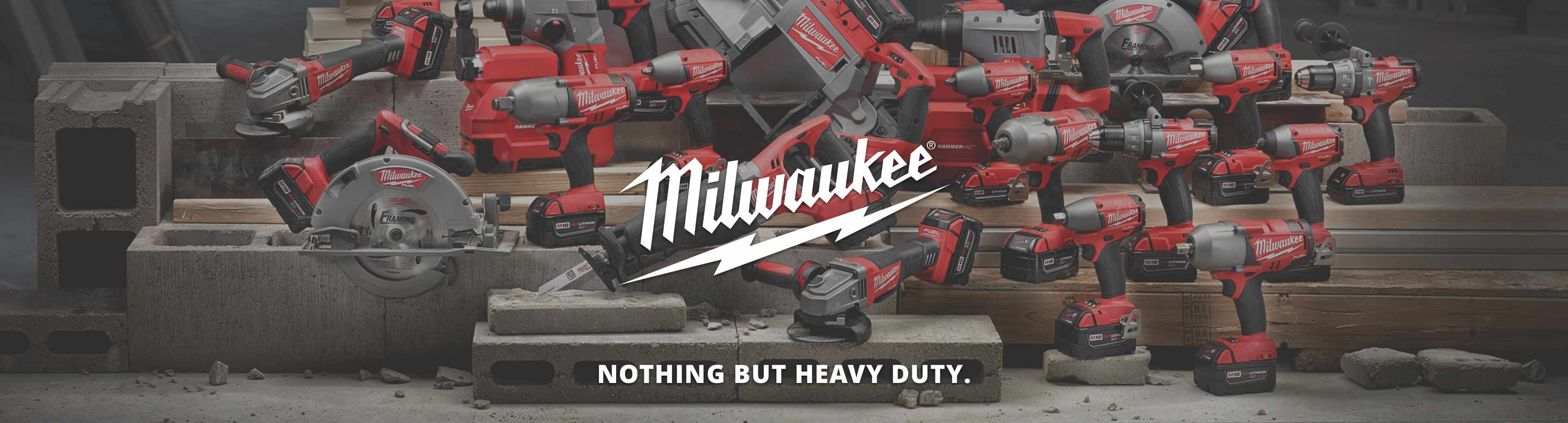 Shop Milwaukee power tools from Vern's Hardware & Rental