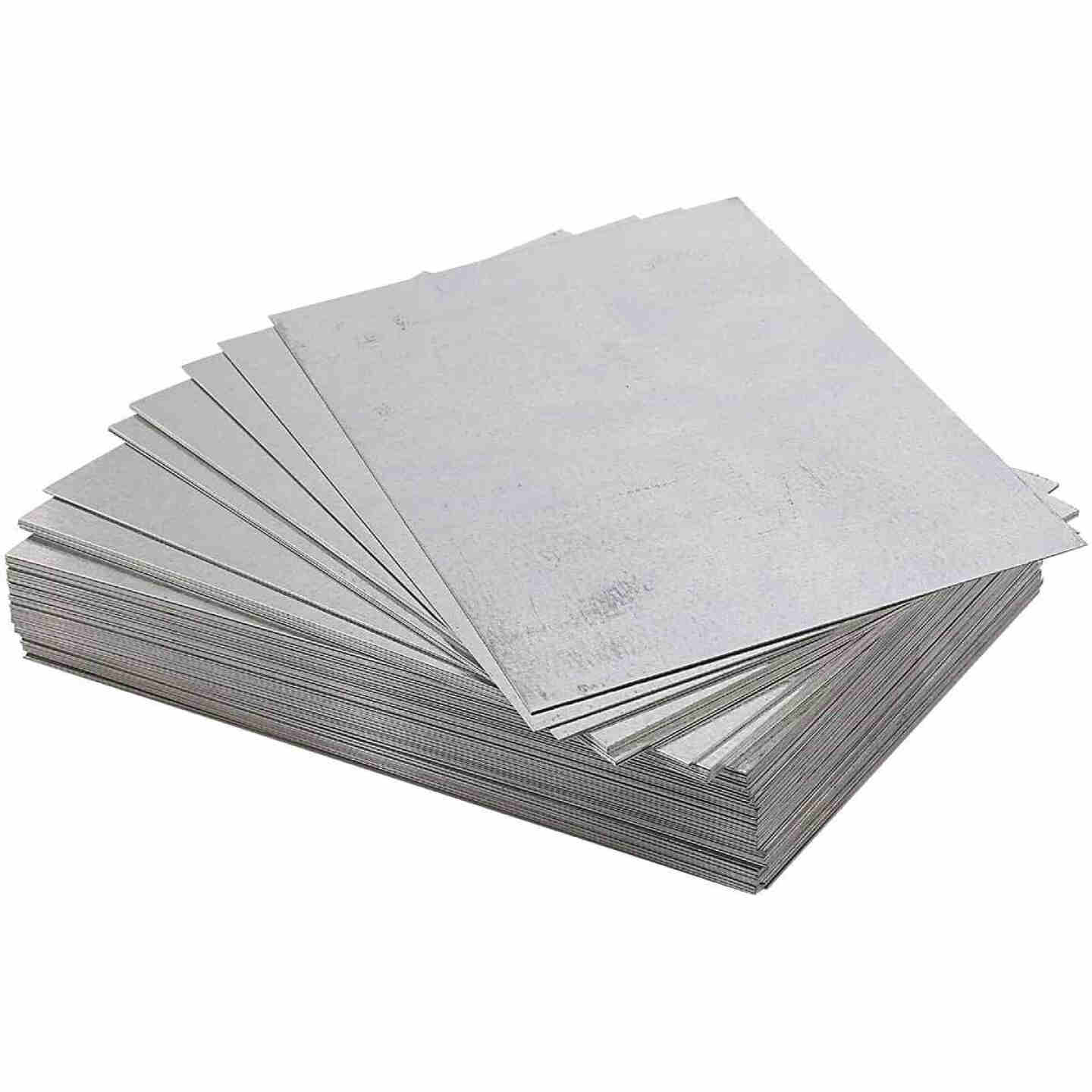 NorWesco 5 In. x 8 In. Mill Galvanized Step Flashing Shingle Image 1