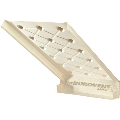 "ADO Durovent Baffle 24"" x 46"" x 2"" Polystyrene DuroVent Attic Rafter Vent"