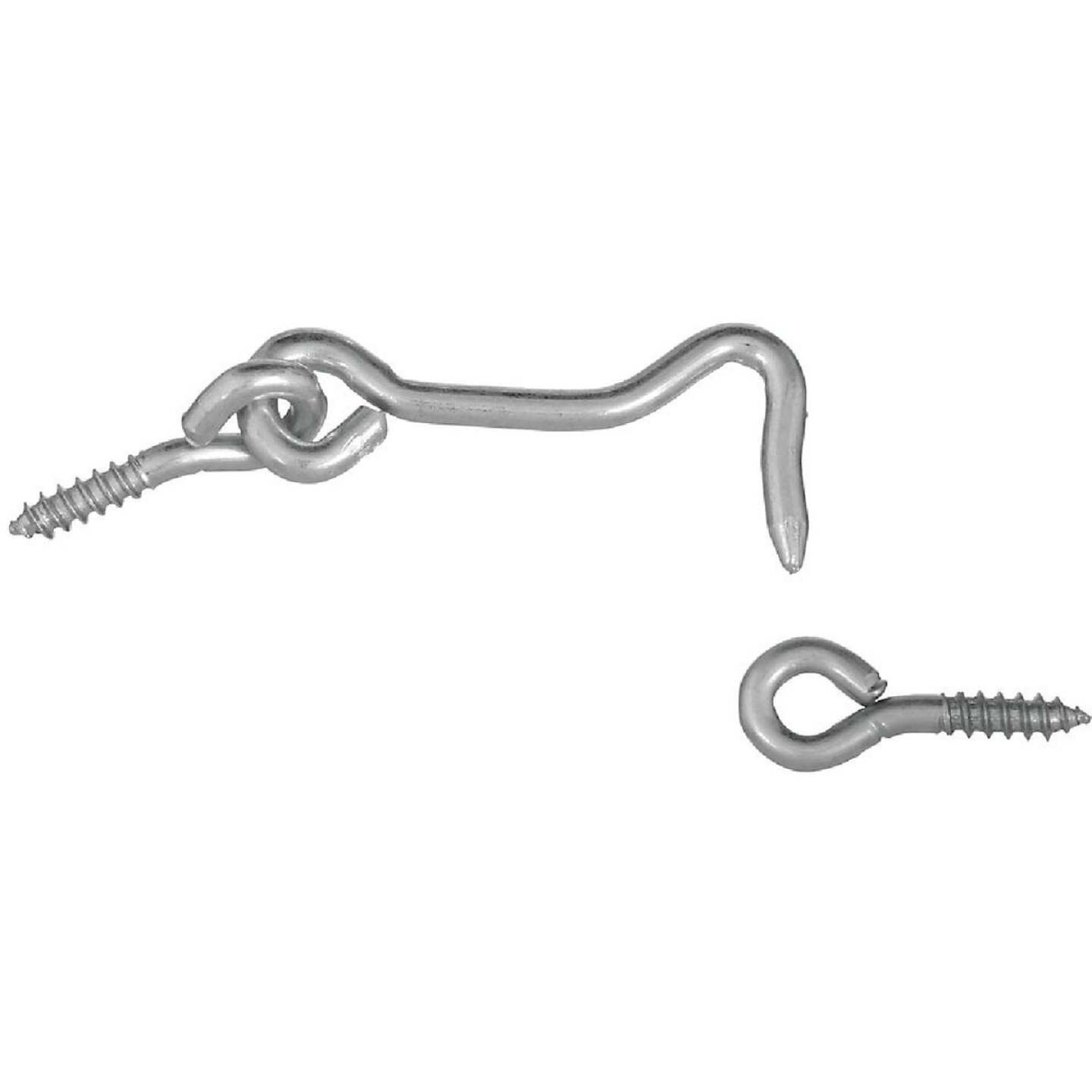 National 2 In. Steel Hook & Eye Bolt Image 1