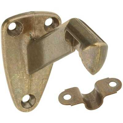 National Antique Brass Zinc Die-Cast With Steel Strap Handrail Bracket