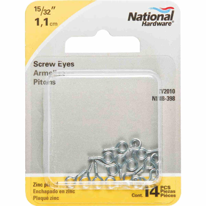 National #217-1/2 Zinc Small Screw Eye (14 Ct.) Image 2