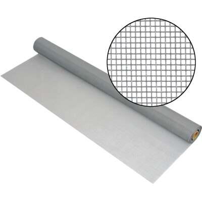 Phifer 24 In. x 100 Ft. Gray Fiberglass Mesh Screen Cloth
