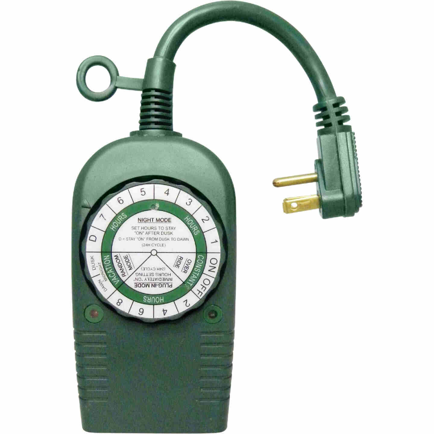 Do it 12.5A 120V 1500W Green Outdoor Timer Image 1
