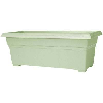 Novelty Countryside 24 In. Plastic Sage Flower Box Planter