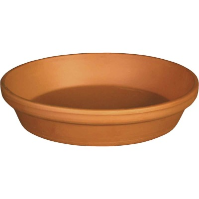 Ceramo 4 In. Terracotta Clay Standard Flower Pot Saucer