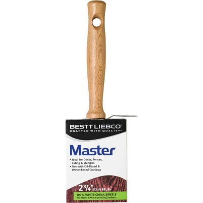 Bestt Liebco Bestt Stainer 2-3/4 In. Tapered Stain Brush