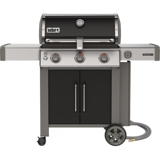 Genesis II SE-315 3-Burner Black 39,000 BTU Natural Gas Grill